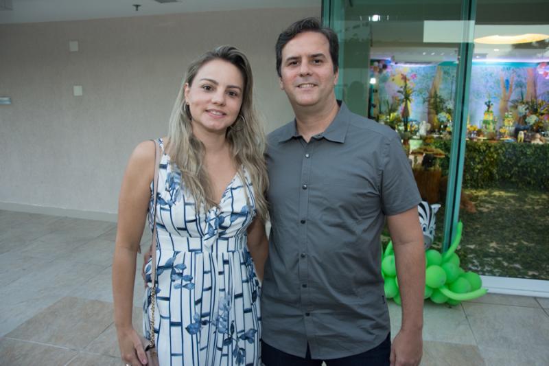 Fernanda Sayao e Andre Uchoa