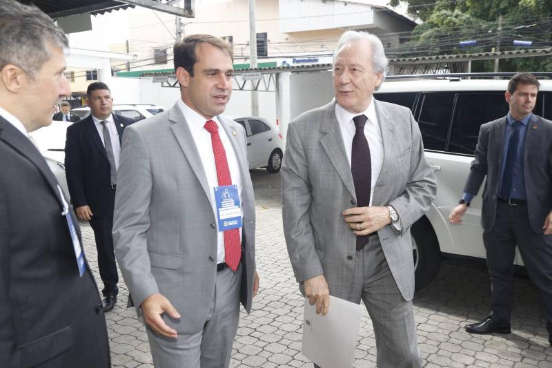Salmito Filho e Ricardo Lewandowski
