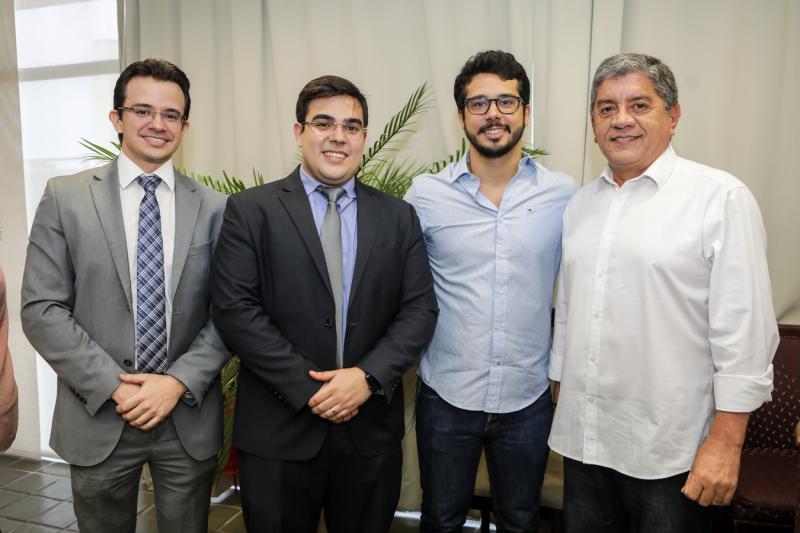 Rafael Albuquerque, Tiago Pinho, Rafael Fujita e Sampaio Filho