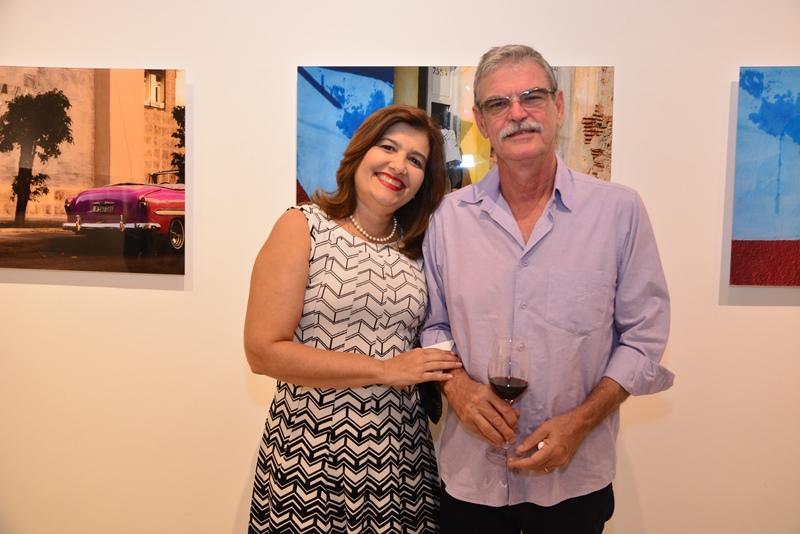 Luciana Alencar e Petronio Acioly