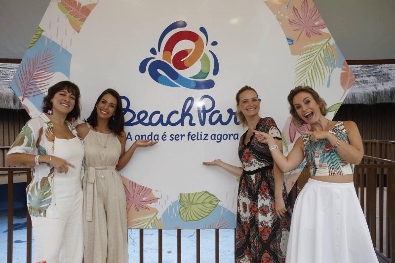 Helen Ramos, Ingrid Machado, Fernanda Rodrigues e Shirley Hilgert