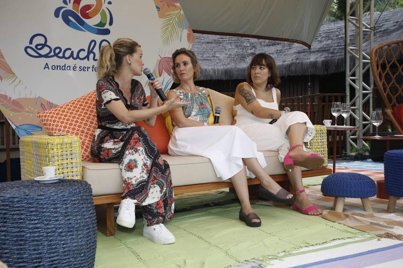 Fernanda Rodrigues, Shirley Hilgert e Helen Ramos
