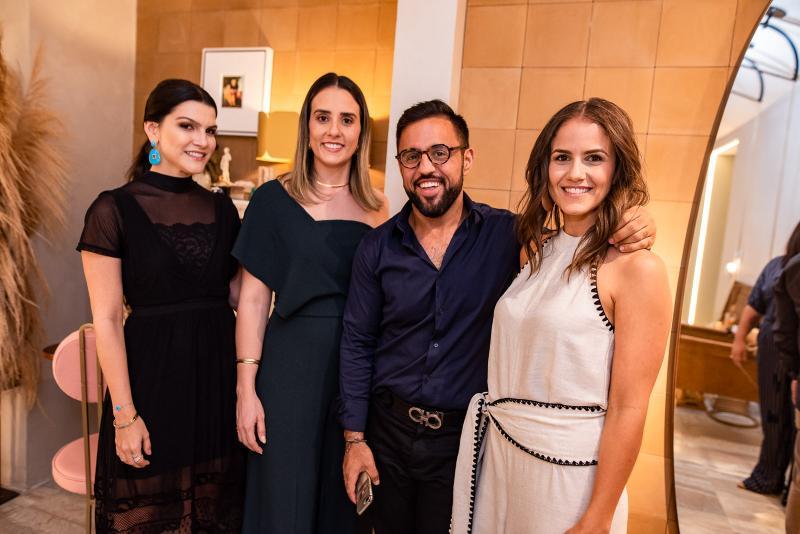 Liana Otoch, Karine Albuquerque, Cicero Marx e Andrea Vercosa