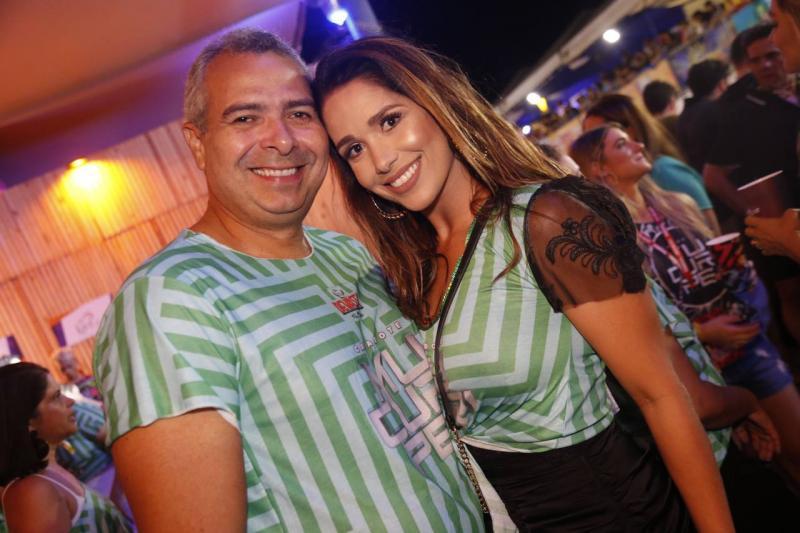 George Regis e Talita Ribeiro