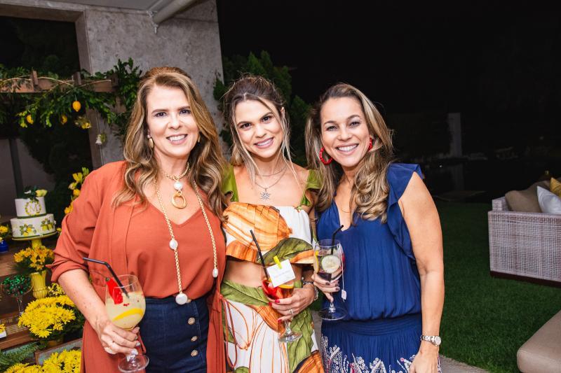 Alexandra Pinto, Mariana Pinto e Ligia Pinheiro