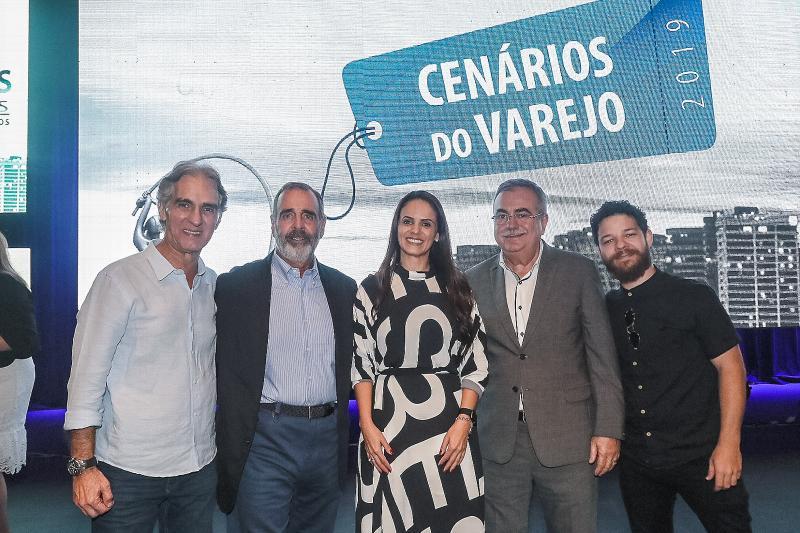 Marcos Gouvea de Souza, Fabiana Mendes, Assis Cavalcante e Lucas Moll