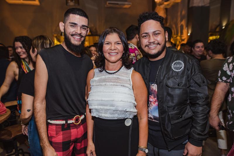Vitor Cunha, Brigida Frazao e Bruno Holy
