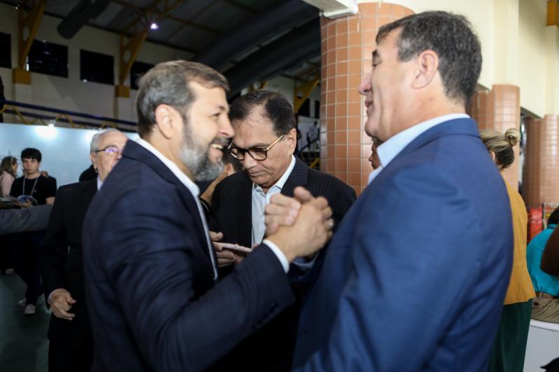 Elcio Batista, Beto Studart e Luis Gastao Bitencourt