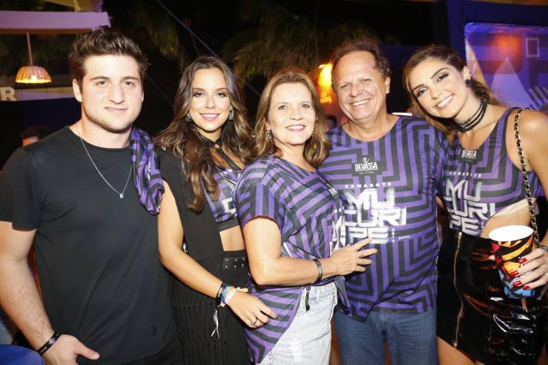 Omar Macedo, Fernanda Levy, Geny e Wilton Lima e Priscila Levy