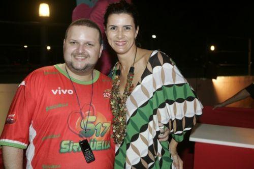 Euller Nogueira e Marcia D Julio