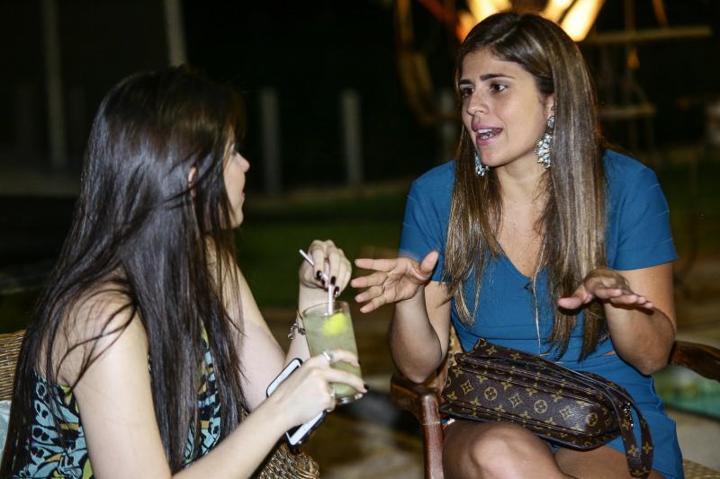 Monique Macedo e Naiana Fialho