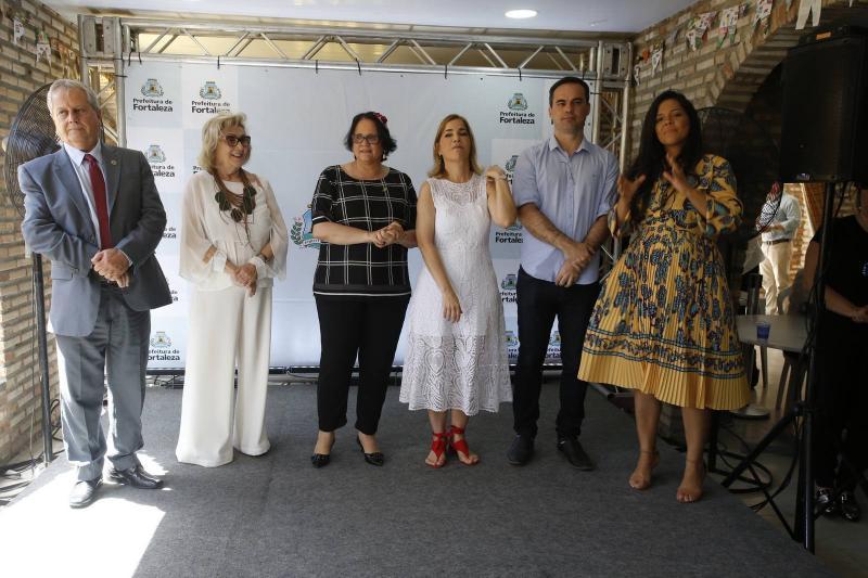 Antonio Fernandes, Socorro Franca, Damares Alves, Maira Pinheiro, Capitao Wagner e Priscila Costa