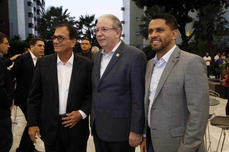 Beto Studart, Ricardo Cavalcante e Alexandre Medina