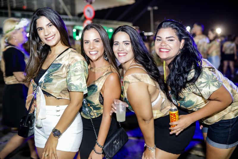 Jorrana Thomaz, Belisa Teixeira, Aline Fernandes e  Ester Leite