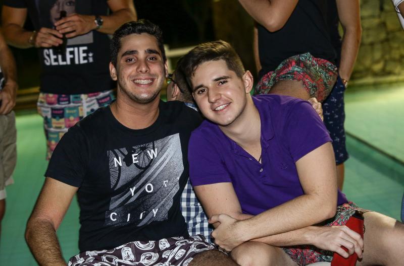 Rafael Pontes e João Mateus