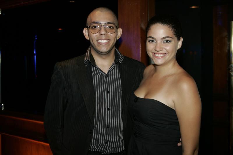 Julio Cesar e Liz Benevides