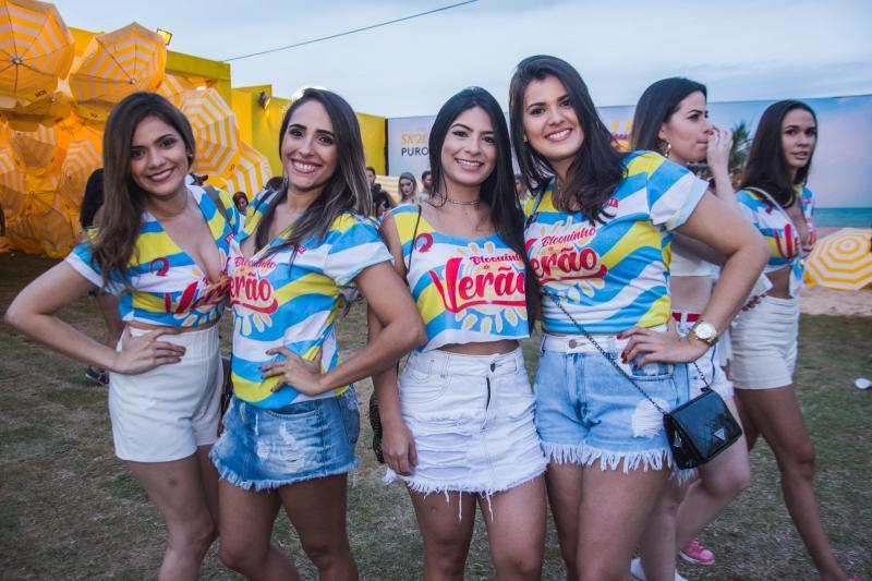 Karla Pinheiro, Dnaiele Magalhaes, Suelem Lopes e Josy Pinheiro