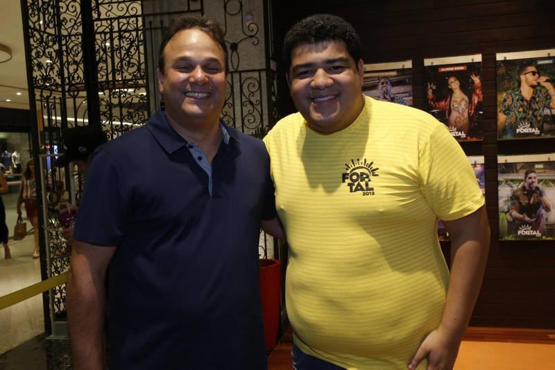 Enio Cabral e Anderson Queiroz