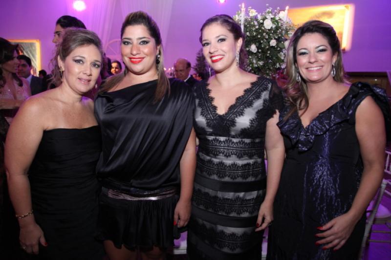 Monica Peixoto, Manu Romcy, Ana Cláudia Aguiar e Tatiana Luna