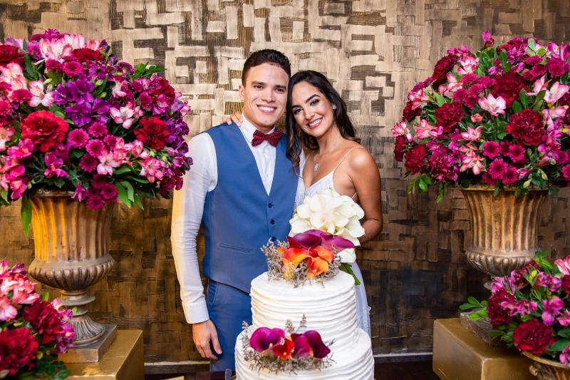 Marcos Lessa e Jeycielle Oliveira