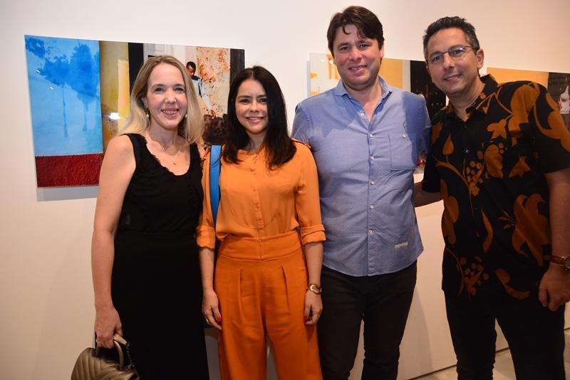 Erika Figueiredo, Roberta e Ricardo Ary e Rodrigo Jereissati