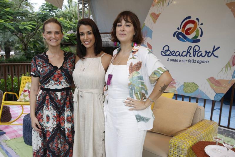 Fernanda Rodrigues, Ingrid Machado e Helen Ramos