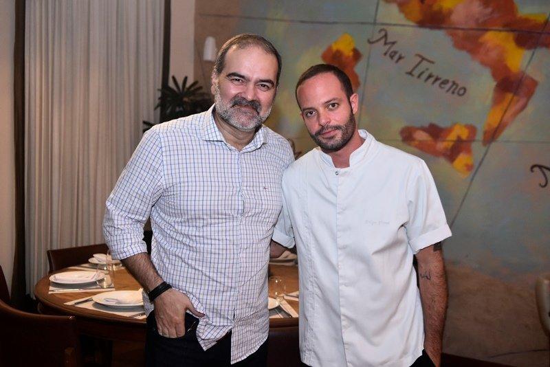 Felipe Viana reúne os chefs da cidade para apresentar os novos pratos do Geppos