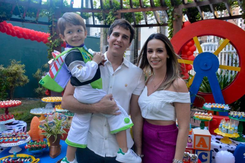 Bernardo e Bruno Frota e Lia Leal