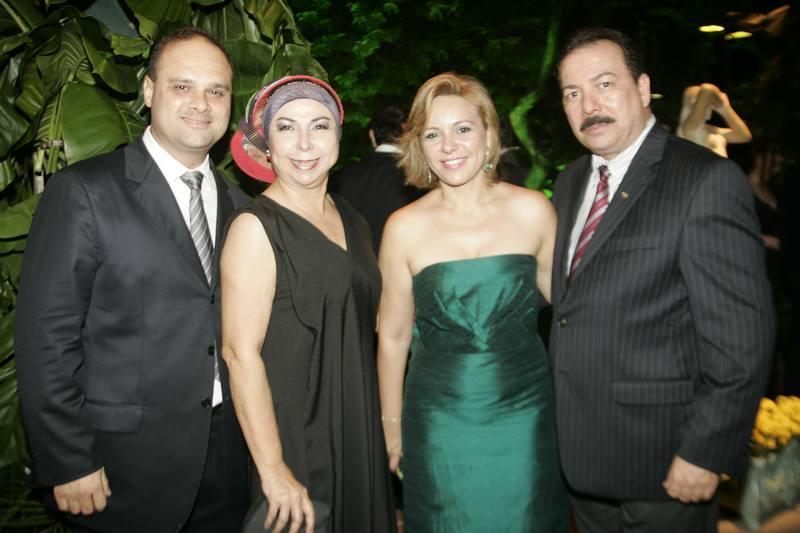 Daniel Fiuza, Alodia Guimaraes, Erica e Assis Martins
