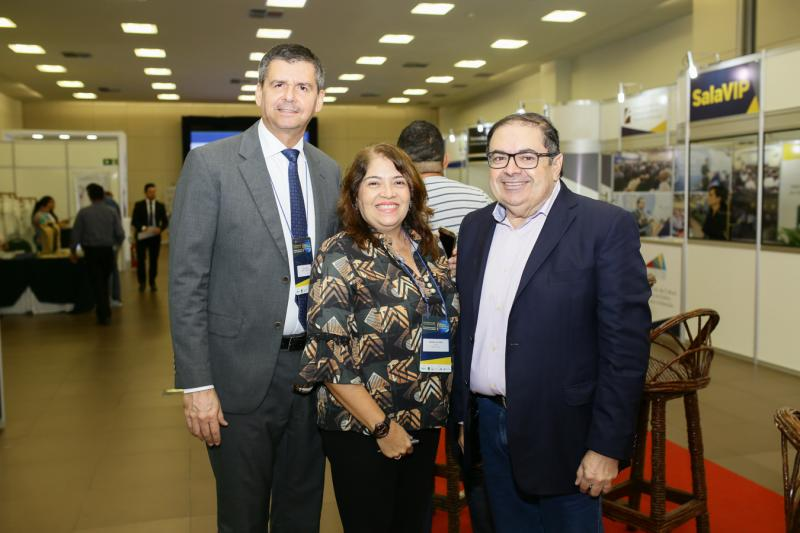 Juraci Muniz,Sandra Valeria e Luciano Guedes