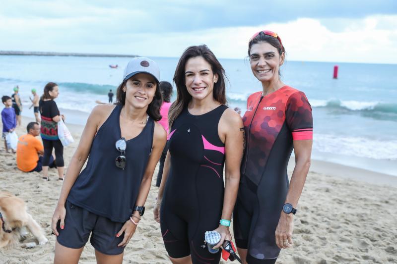 Carol Militao, Ana Virginia Martins e Rebeca Albuquerque