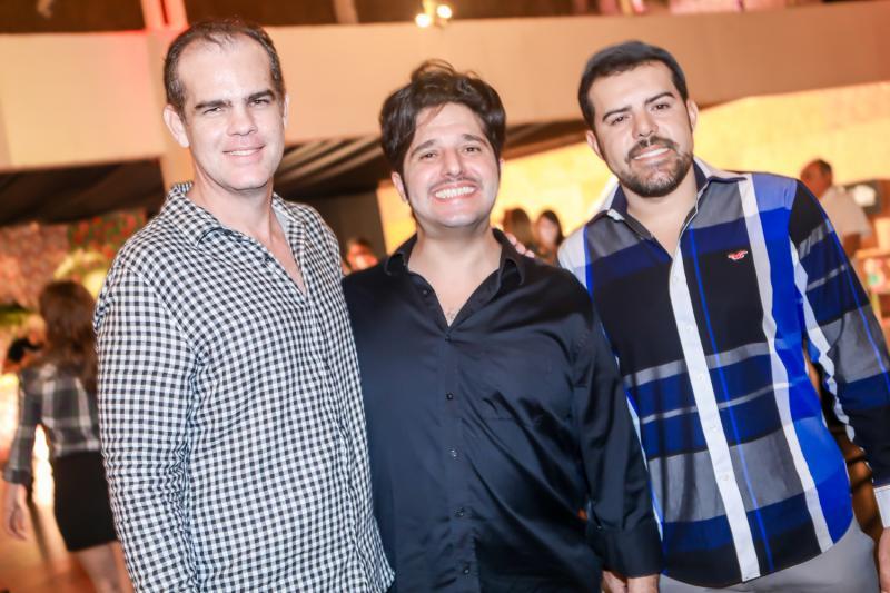 Celio Gurgel, Pipo e Eduardo Oliveira