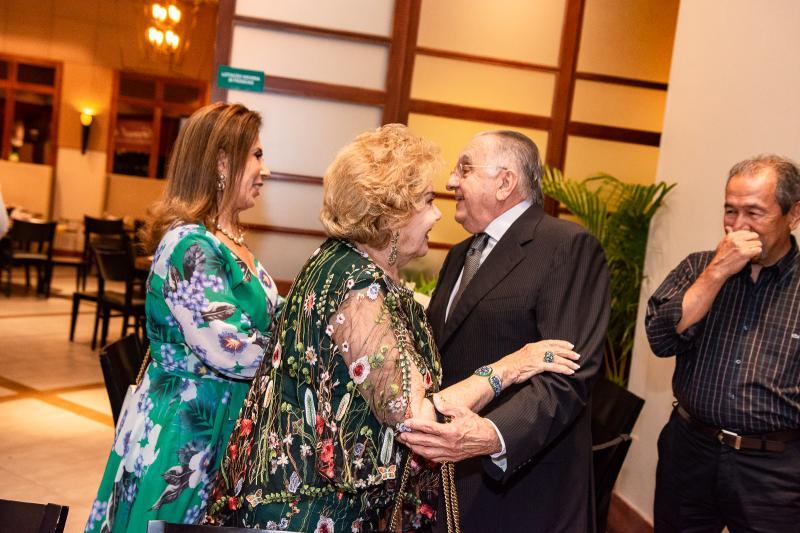 Regina Dias Branco, Joao Carlos Paes Mendonca e Consuelo Dias Branco
