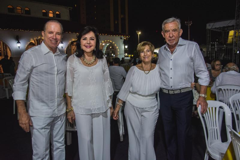 Sergio Morozini, Kira Morizini, Gabriela Bertozi e Ardon Mazete