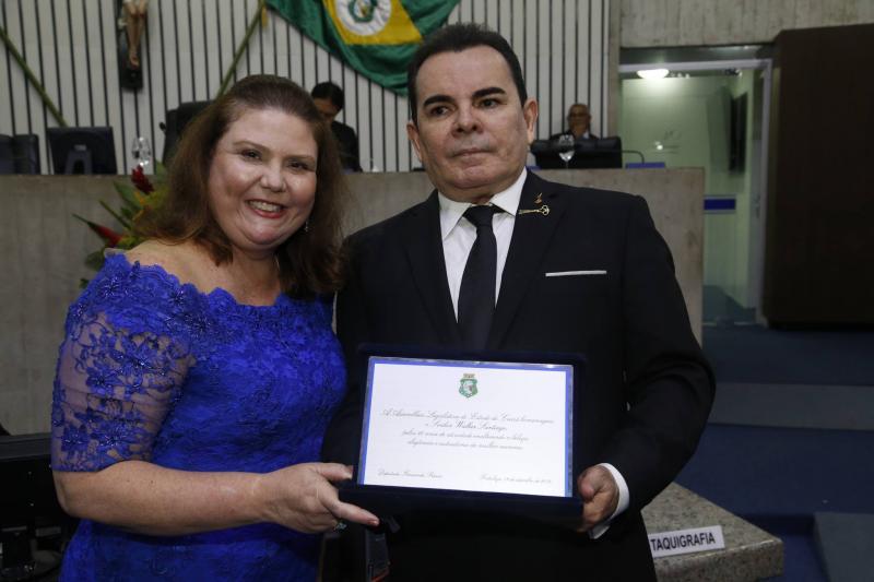 Fernanda Pessoa e Walker Santiago