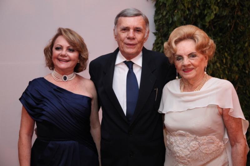 Lurdinha e Arnoldo Leite Barbosa e Rita Parente