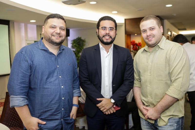 Rodrigo Coifman, Rodrigo Nobrega e Felipe Kaisar