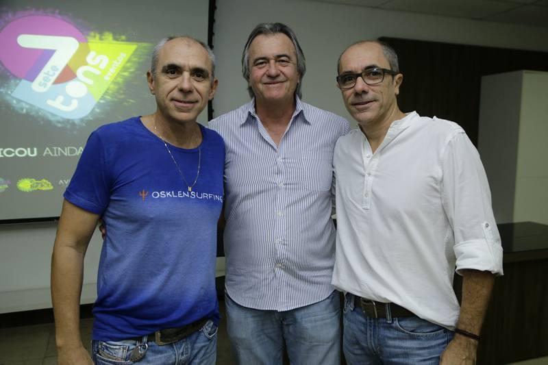 Douglas Santos, Quintino Feitosa e Betinho Santos