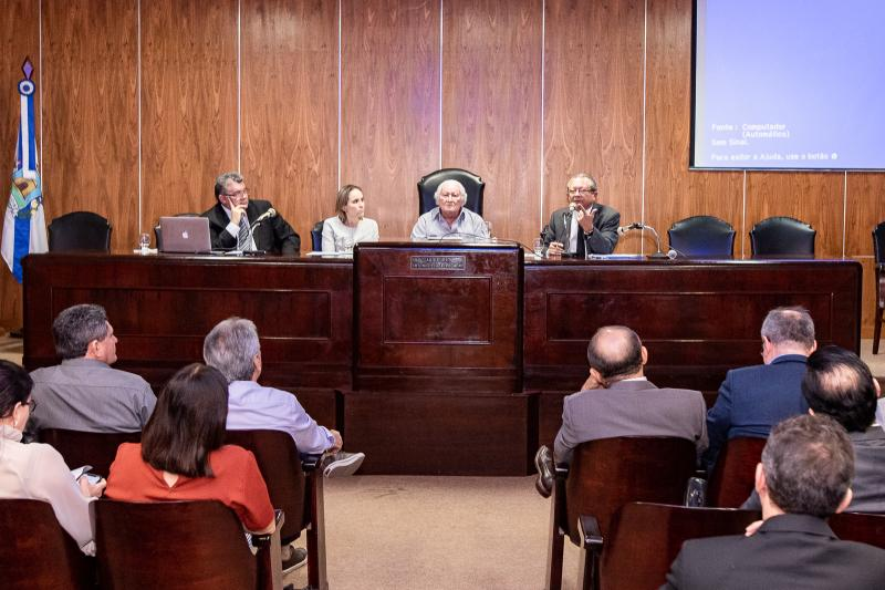 Solenidade de Posse do Conselho de Defesa do Contribuinte