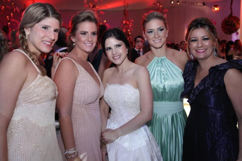 Uliana Machado, Elen Pessoa, Marilia Quintao, Bruna Quindere e Tati Luna