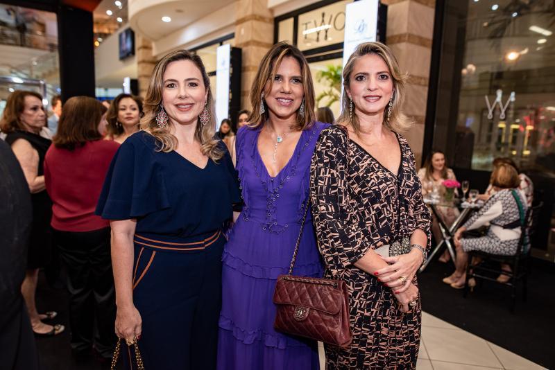 Suyanne Dias Branco, Ana Carolina Fontenele e Michele Aragao