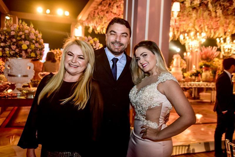Socorrinha Pontes, Eduardo e Mabel Queiroga