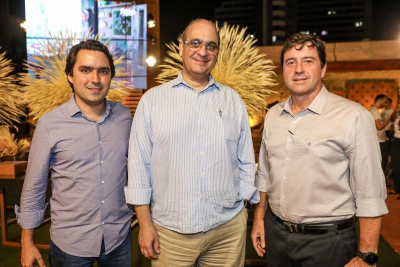 Fernando Castelo Branco, Walder Ary e Igor Ribeiro