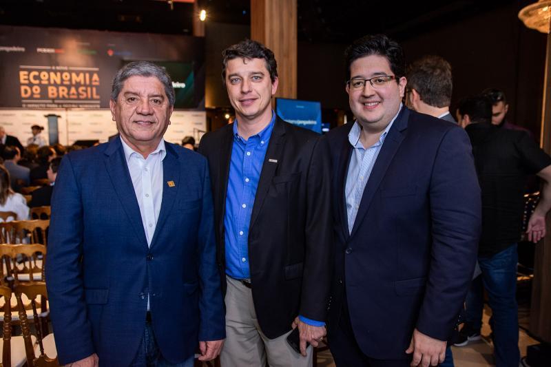 Sampaio Filho, Andre Siqueira e Yure Torquato