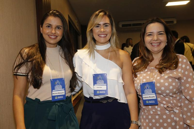 Marissa Mesquita, Eliane Arrais e Valeria Estrela