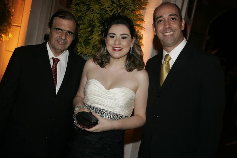 Duda Queiroz, Lia Pinheiro e Marcelo Ponte