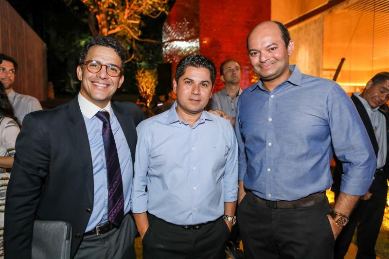 Raul Amaral, Pompeu Vasconcelos e Otilio Ferreira