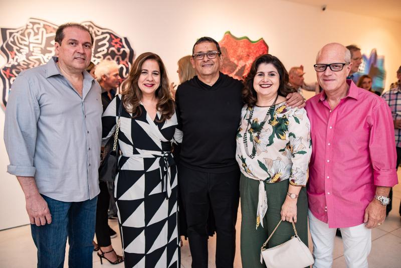 George Assuncao, Martinha Assuncao, Jose Guedes, Bebel e Vitor Ciasca