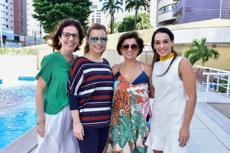 Geogerana Loureiro, Patricia Benevides, Micheline Albuquerque e Melissa Arruda