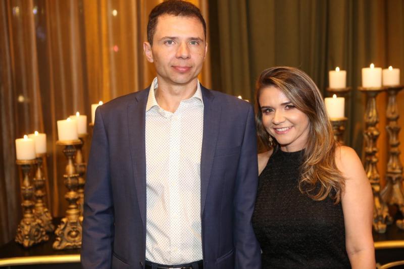 Fabio Gondim e Michelle Nunes
